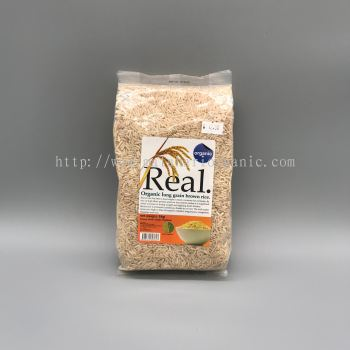 Real Organic Long Grains White Rice