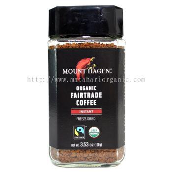 Mount Hagen Organic Fairtrade Coffee Instant