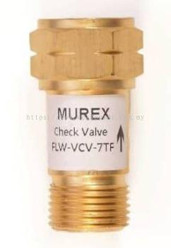 """Check Valve BSP 3/8"""" Acetylene Murex"""