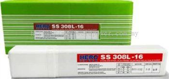 2.5 kgs Stainless Steel Welding Electrode 2.6mm x E308L-16 Hero Tech