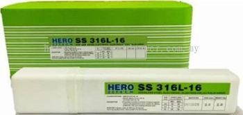2.5 kgs Stainless Steel Welding Electrode 2.6mm x E316L-16 Hero Tech