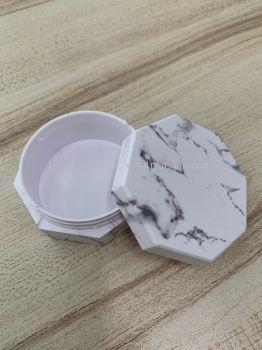 Octagonal Marble Loose Powder Casing - LPC001 - 10g,20g