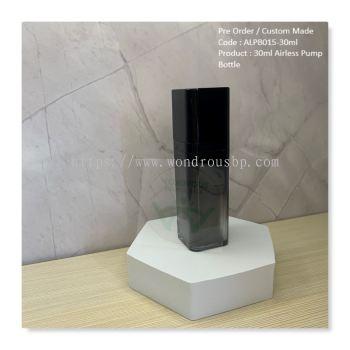 30ml Square Acrylic Airless Pump Bottle (Lotion Pump) - ALPB015