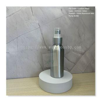 100ml Aluminum Mist Pump Bottle - PSPB002