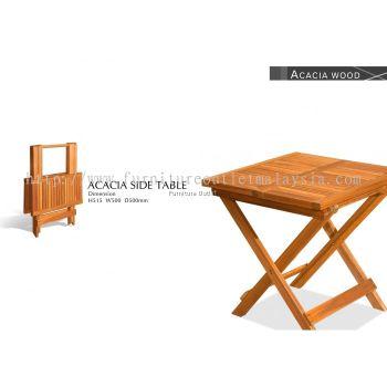 ACACIA SIDE TABLE (50X50CM) MALAYSIA