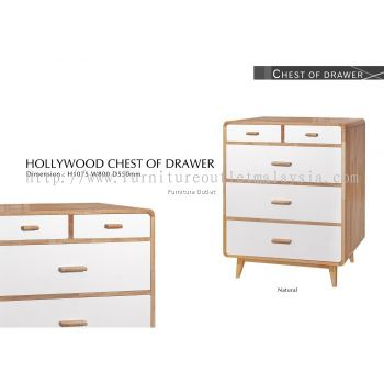 HOLLYWOOD CHEST OF DRAWER MALAYSIA