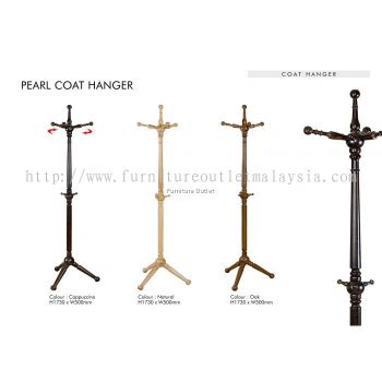 PEARL COAT HANGER (CH173) MALAYSIA