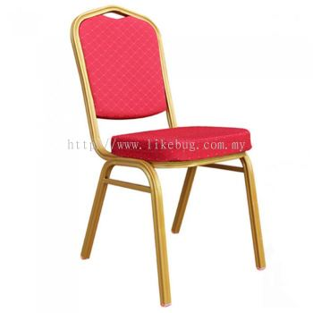 Classy Elegant Multi Usage Golden Plated Banquet Chair