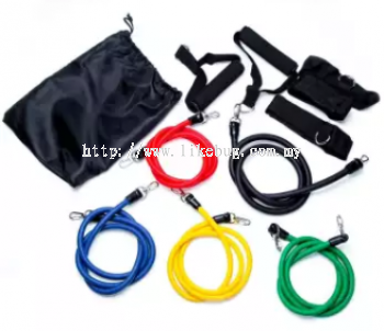 ELASTIC FITNESS EXERCISE RESISTANT ROPE PULL BRAND