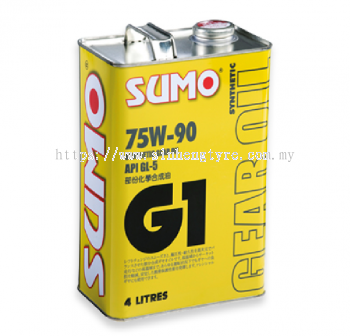 SUMO G1 Synthetic Gear Oil 75W90 - 4L