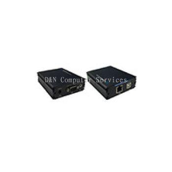 VE01T – VGA (1600 x 1200) + Audio Transmitter by CAT5e