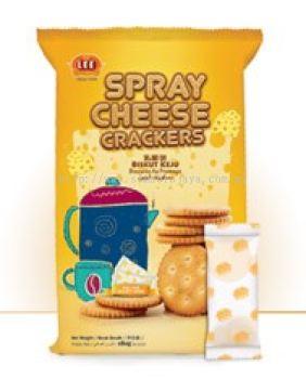 Spray Cheese Crackers