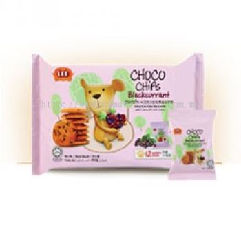 Choco Chips Blackcurrant Biscuits 160g