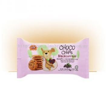 Choco Chips Blackcurrant Biscuits 70g