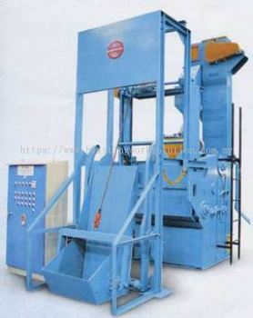 Tumble Blast Machine Apron Type