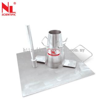 Mini Slump Cone Test Apparatus - NL 3035 SS / 002