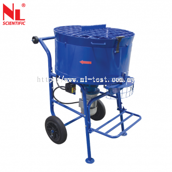 Concrete Pan Type Mixer (Forced Speed) - NL 4025 X / 008, 009, & 010