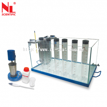 Particle Size Analysis Of Soil Apparatus - NL 5024 X / 001