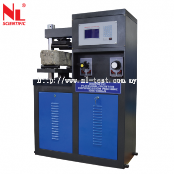 NL 4008 X / 005 - Digimatic Flexural Mortar Compression Machine 100/300 kN