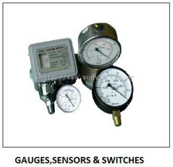 GAUGES , SENSORS & SWITCHES - VACUUM