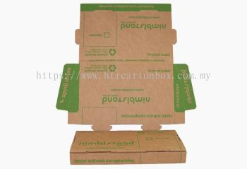Corrugated Die Cut Folding Carton Box
