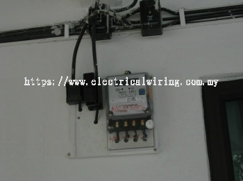 Repair Burnt out TNB cable and  cut-off fuse