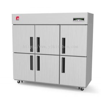 Redor 6 Door Upright Chiller / Freezer