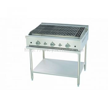 MSM-36-CBS-CHARBROILER WITH STAND