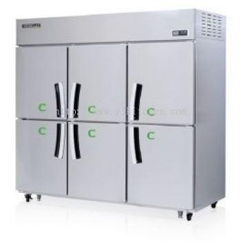 Modelux 6Door Upright Chiller/Freezer