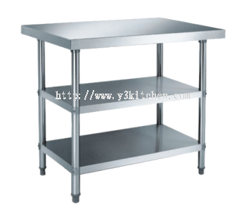 FWT900-2 3Tier-S.Steel Working Table