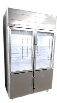 Kim 4door Upright Chiller/Freezer-Piping System