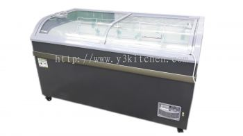 SCX-500G SLIDING GLASS DOOR CHEST FREEZER