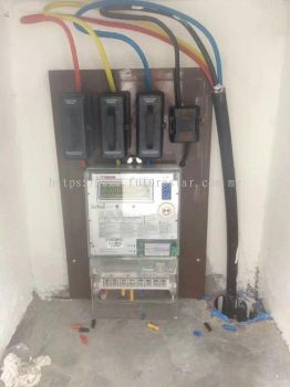 Commercial Sub Meter Wiring Installation