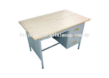 Steel Pedestal Desk 4'