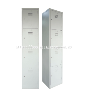 4 Compartments Steel Locker S114/B