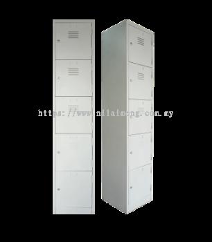 5 Compartments Steel Locker S114/E