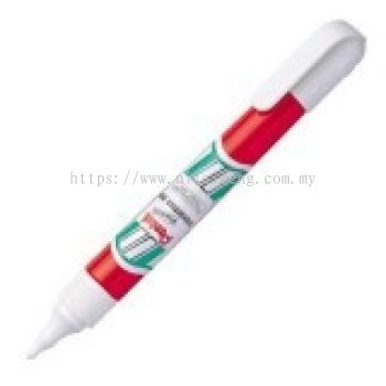 PENTEL ZLC21-W CORRECTION PEN 7ML RED