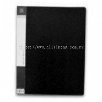 CBE 76020 Clear Holder 20 Pockets BK-A4