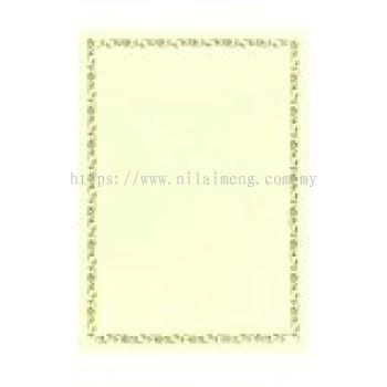 Kertas Sijil / Certificate Paper
