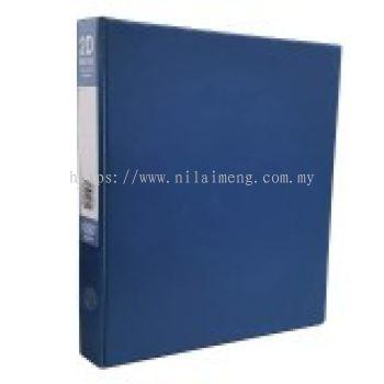 CBE 2D635 2-O 25MM PVC Ring File (A4) BL