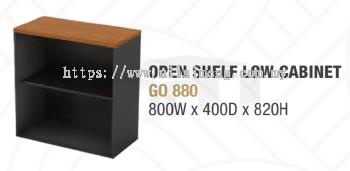 GO 880 OPEN SHELF LOW CABINET