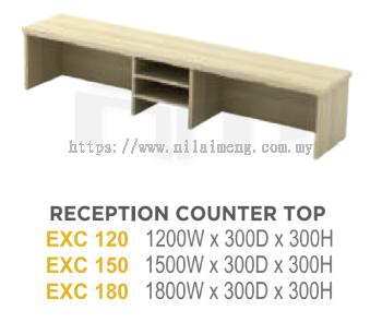 EX RECEPTION COUNTER TOP