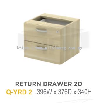 Q-YRD 2 RETURN DRAWER 2D