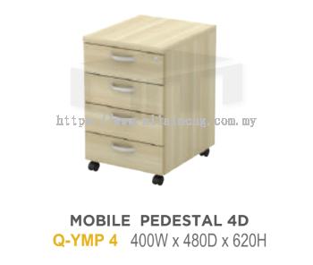 Q-YM 3 MOBILE PEDESTAL 3D