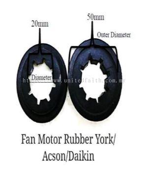 FAN MOTOR RUBBER �C YORK �C FMRD