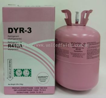 DYR-3 Refrigerant R410a - 10kg
