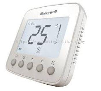 Honeywell TF228WN Digital Thermostat 220 VAC (Fan Coil Control)