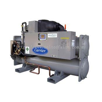AquaForce® High-Efficiency, Water-Cooled, Indoor Liquid Screw Chiller 30XW