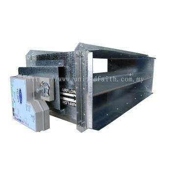 Rectangular Damper with VVT® Zone Controller OPND OPND8X10ZC, OPND8X14ZC, OPND8X18ZC, OPND8X24ZC