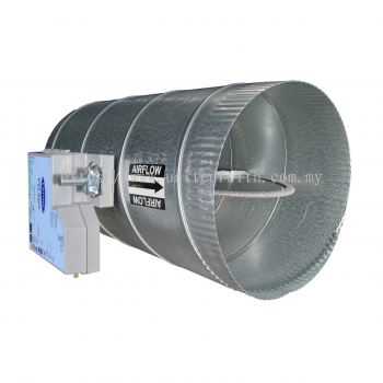 Round Damper with VVT® Zone Controller OPNDR Part Numbers OPNDR06ZC, OPNDR08ZC, OPNDR10ZC, OPNDR12ZC, OPNDR14ZC, OPNDR16ZC
